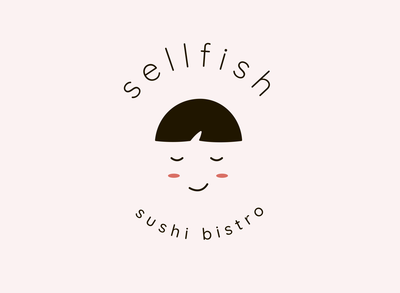 Logo design for sushi bistro