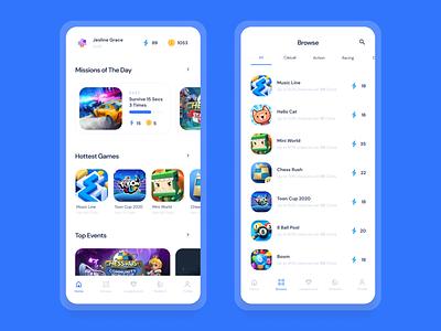 HEROLL Game Reward System | UI UX Design loyalty app lms point reward game design game apps mobile mobile app design mobile design mobile app mobile ui app application
