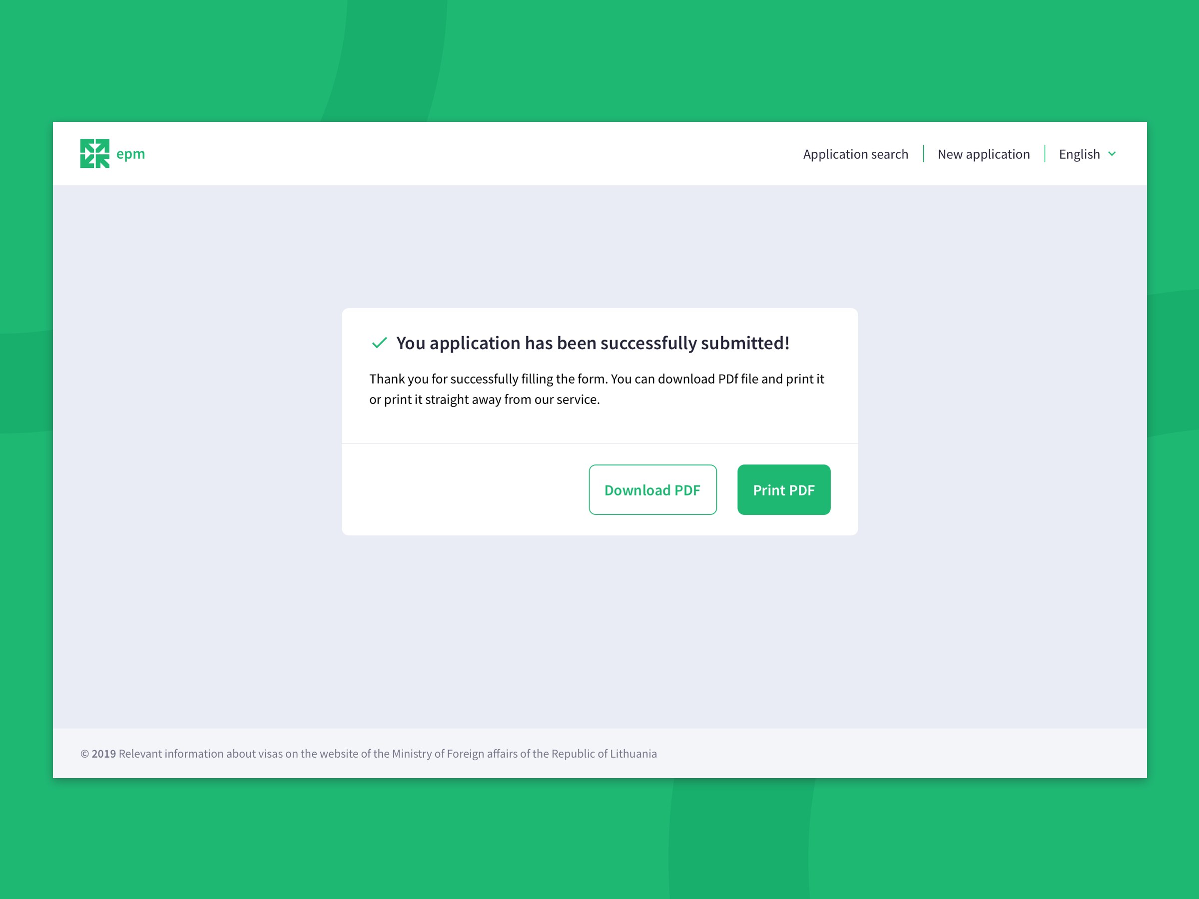 The Completed Application Form By Aliaksandra Shauchuk On Dribbble