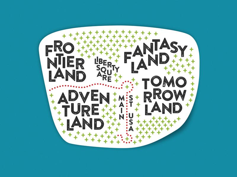 Magic kingdom type map