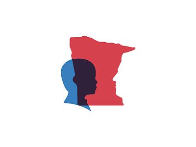 Minnesota youth children minnesota unused concept logo mark branding