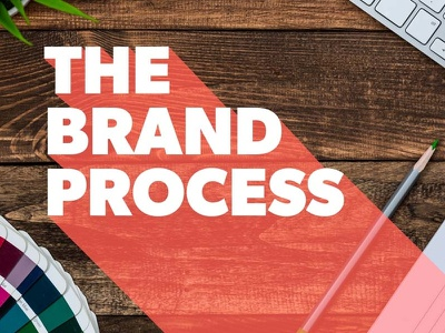 The Brand Process identity creative strategy logo branding
