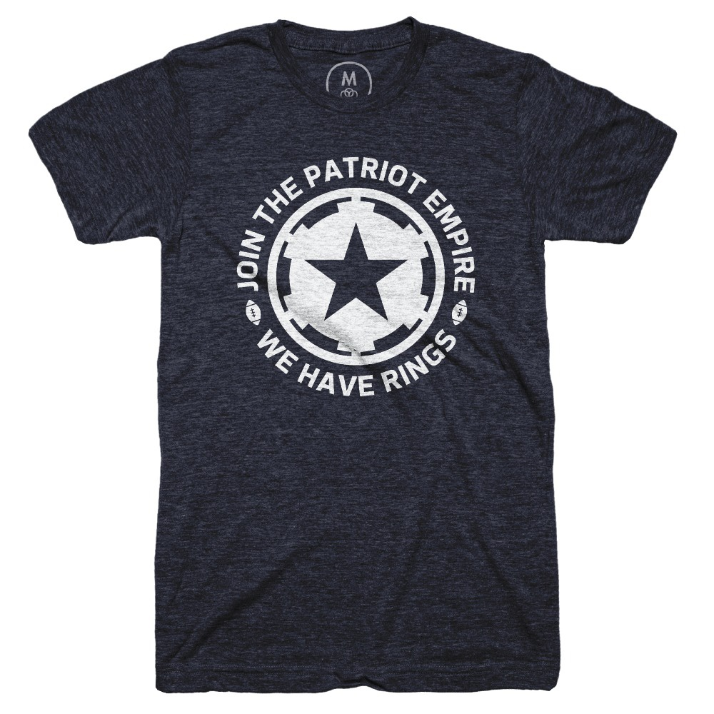 Join the empire   tri blend   men   tee   vintage navy