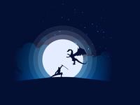 Ninja Hunter Illustration