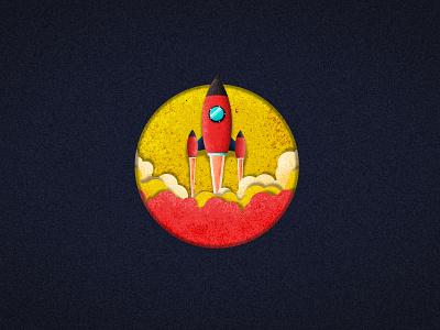 Rocket vintage design vintage rocketship illustrator rocket vector vector texture texture vector illustration vector art vectors rocket illustraion rocket illustration art illustraion vector srabon arafat illustration