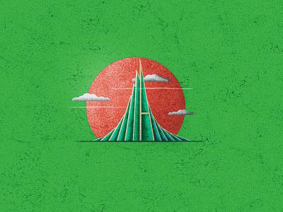 National Martyrs victory of bangladesh 16th december 90s old vintage texture bangladeshi martyrs bangladesh martyrs bangladesh bangladesh cloud design vector srabon arafat illustration