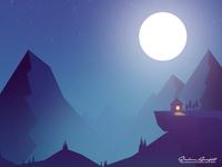 Midnight Illustration