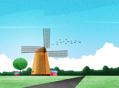 Roadside Windmill