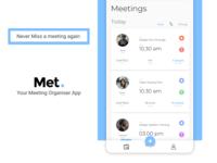 Met. - Meeting Organiser App