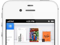 iOS Bookshelf