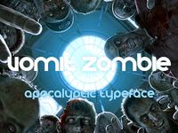 VomZom ~ Apocalyptic Typeface