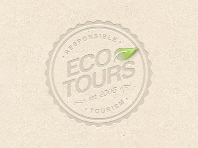 Responsible Tourism responsible tourism badge eco tours africa leaf emblem