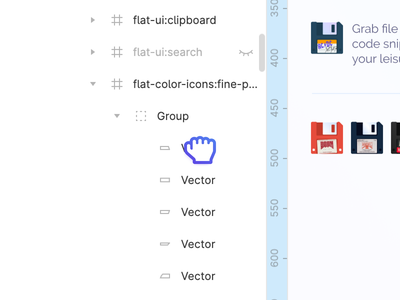 Figma Please Do This! wishlist layers menu scroll drag figma