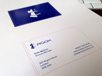 Rook Security Business Card