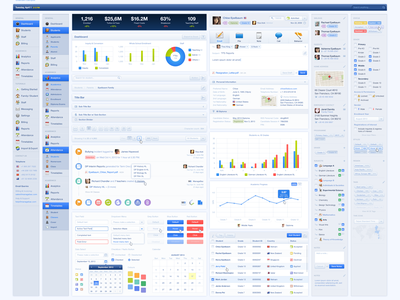 Master UI Kit ui ux kit graph navigation forms elements charts buttons states interface icon