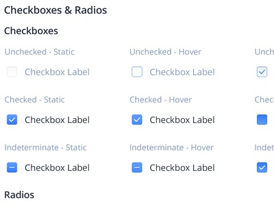 Checkboxes & Radios audi drawing scetch ocd buttons radio states styleguide interface ui checkbox