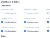 Checkboxes & Radios