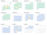 2015 – 2016 Year Calendar