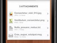 Attachments Detail