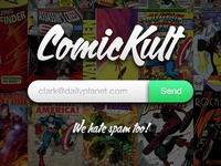 ComicKult ~ Launching Page