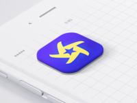 Non-white App Icon