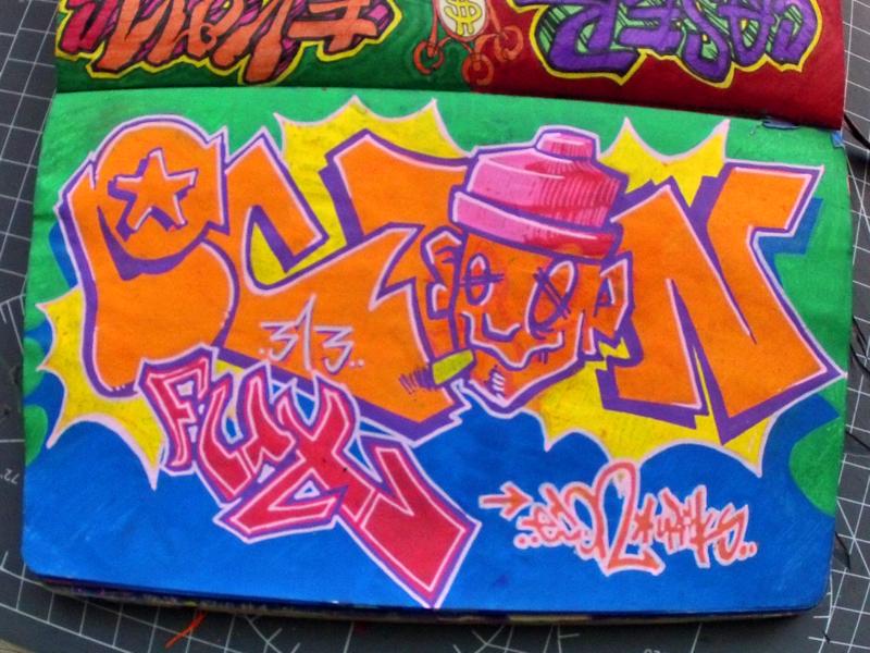 #INKTOBER Day 25: Ekon Forever graffiti inktober2018 inktober shady figures sf ekons ekin