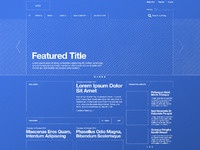 Blueprint wireframe full