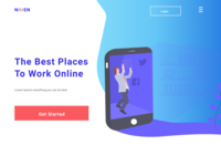 A Website for a Remote Placement Company