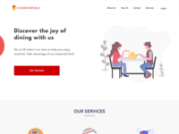 What I did Today #004 - Chicken Republic Landing Page