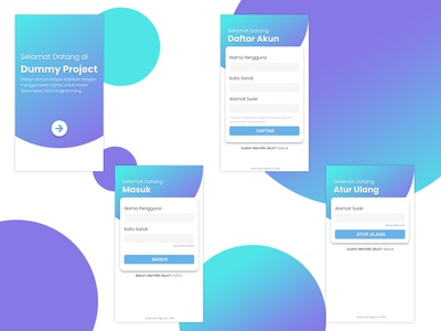 Login Page with Figma