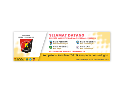 Welcoming Banner