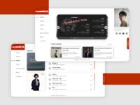 MasPamMusic Landing Page