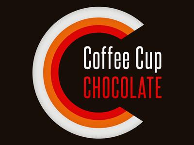 Coffee Cup Chocolate Logo company shop coffee branding logo