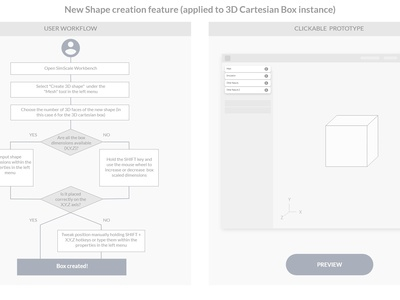 UX / UI design: New CAD software feature product uidesign ux  ui ux