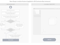 UX / UI design: New CAD software feature