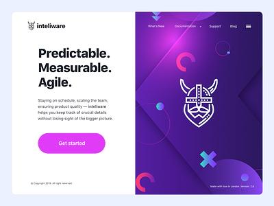 Inteliware graphic design ui  ux web design