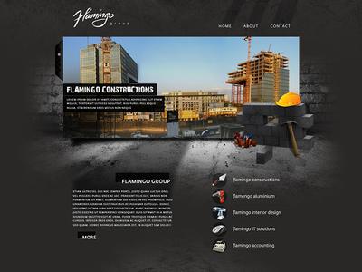Flamingo group Webdesign