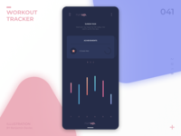 Daily UI 041: Workout Tracker