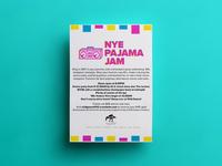 NYE Pajama Jam Flyer