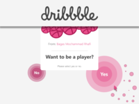 Hello Dribbble Land!