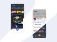 Uplabs iOS Application UI Design