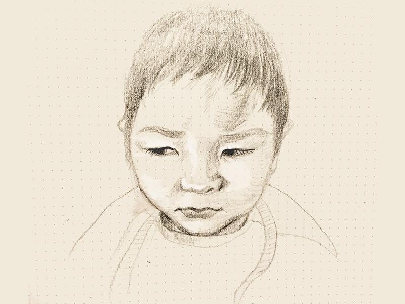 littlenephew illustration drawing sketch character