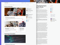 Anonyome Blog Design
