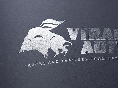 Logo corporate identity logo brand name transport company
