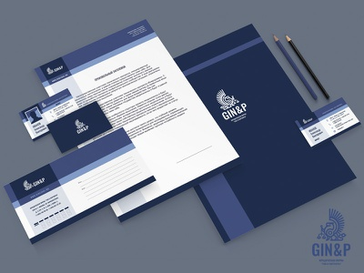 Corporate identity identity corporate logo firm law griffin name brand
