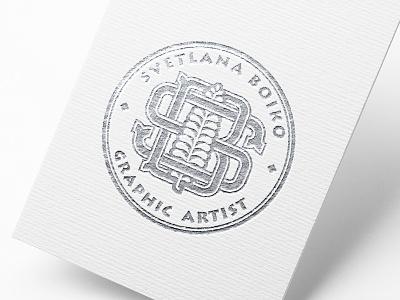 Monogram monogram design boiko identity brand logo