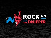 Rock on the Dnieper | Brand Identity