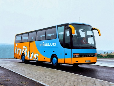 Bus branding – inBus.ua tickets travel inbus bus advertising logo identity graphic branding design brand