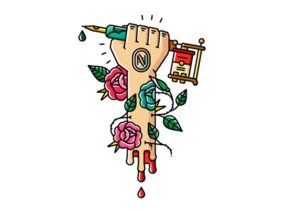 Tatto Art Design Full Color