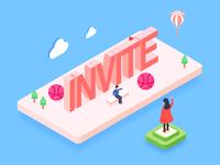 2 invites